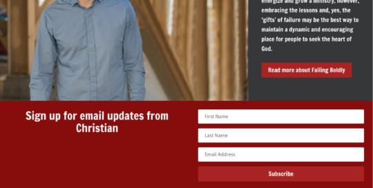 Christian Coon, Website