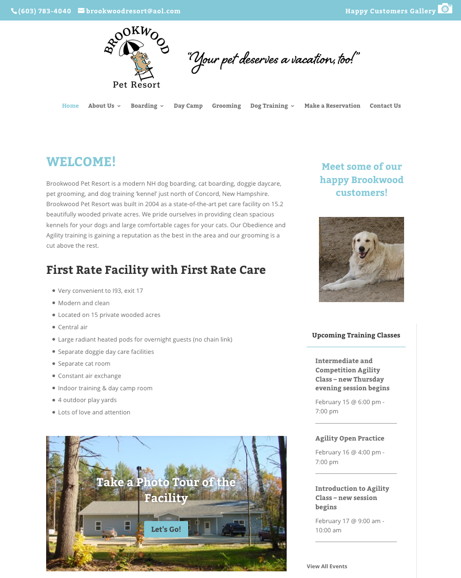 brookwood pet resort